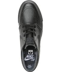 nike sb stefan janoski black anthracite leather