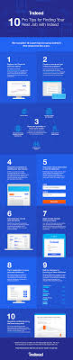infographic tips for using indeed to master your job search 10 tips for using indeed to master your job search