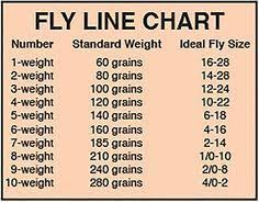 Image Result For Fly Rod And Reel Wt To Hook Size Chart