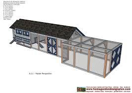 home garden plans l200 large en coop plans how to build