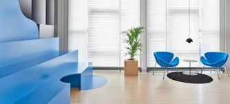 office interior. Colourful Office Interior Design
