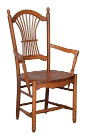 amish dining chair. Amish Hanover Sheaf Back Dining Chair