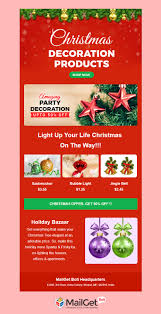5 Free Christmas Email Templates Responsive Customizable