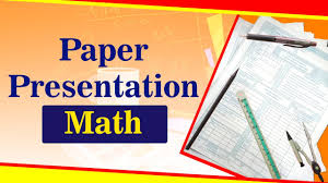 Math Paper Presentation Exam Tips For Students Letstute