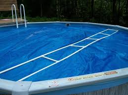 inground pool solar cover reel build a pvc pool cover out door ideas