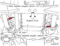 wiring diagram further 2001 nissan pathfinder o2 sensor location on