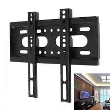 universal 25kg tv wall mount bracket fixed flat panel tv frame for 14 42 inch lcd led monitor flat panel bracket in wall speakers caraudio from cloudless