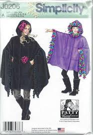 Fleece Poncho Pattern With Hood