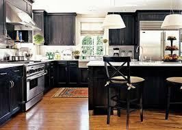 light hardwood floors with dark cabinets. Dark Kitchen Cabinets With Light Wood Floors Pictures And Outstanding Granite 2018 Hardwood