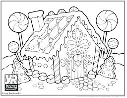 blank gingerbread house coloring pages. Perfect House Gingerbread House Coloring Page Sheets  Pages Of Houses  Intended Blank Gingerbread House Coloring Pages B