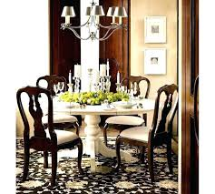 this picture here pottery barn round dining table with bench luxuriant natural design style rooms