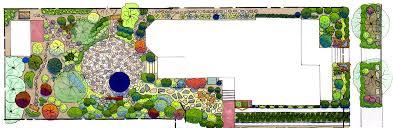 SummerBlooming Front Yard Cottage Garden PlanCottage Garden Plans