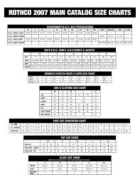 Rothco Sizing Chart En By Prefair Imrico Ltd Issuu