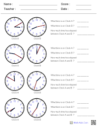 Time worksheets for grade 6 thumb newest pictures reading an ...