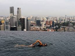 infinity pool singapore wallpaper. Marina Bay Sands Skypark Infinity Pool Singapore 57 Storeys High 4 The In Wallpaper