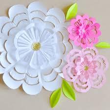 Folding Paper Flower Folded Paper Flower Patterns Comousar