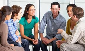 different types of people. group therapy is a common form of psychological that less costly than other therapies. different types people