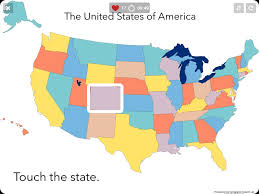 states map quiz sheppard software  all world maps
