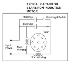 1 phase ac motor wiring diagram images electric motor and cr4 th capacitor startrun wiring