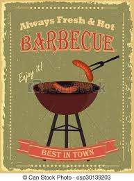 Bbq Poster Vintage Barbecue Party Poster Vintage Bbq Poster Design With