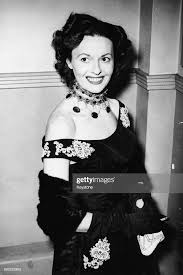 Portrait of actress Betty Marsden, attending the opening night of ...