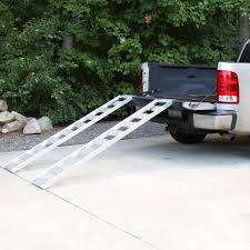 Truck Bed Ramp Heavy Duty Ramps Motorcycle Loading Systems For ...