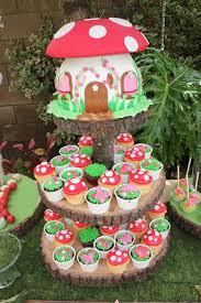 Woodland Fairy Birthday Party Ideas Smurf Party Ideas Fairy