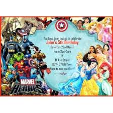 Personalized Superhero Birthday Invitations Personalized Superhero Invitations Personalised Boys Birthday Party