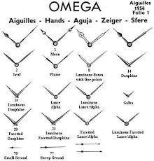 Genuine Omega Watch Hands
