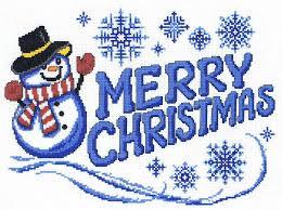 Christmas Chart Images Merry Christmas Snowman