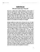 macbeth critical response essay international baccalaureate  role of women in king lear