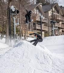 Snowboard Terrain Park Design Freestyle Beech Terrain Park Skiers Snowboarders