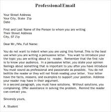 Professional Email Writing Samples