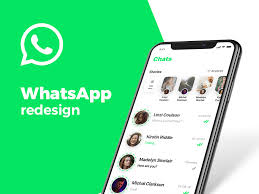 Whatsapp Design App Whatsapp Redesign Concept On Behance Social App Design