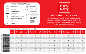 Wallpaper Coverage Chart Free Download Wallpaper Calculator 950x600 For Your