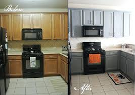 painted black kitchen cabinets before and after. Painted Black Kitchen Cabinets Before And After Side By With Dark Blue For  Sale . K