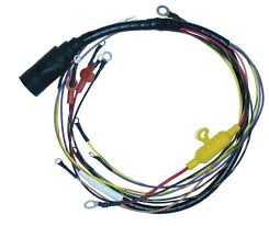 wiring harnesses marine engine parts fishing tackle basic wire harness internal for mercury mariner 135 200 hp v6 40 amp 84 96220a13