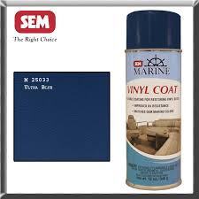 marine sem vinyl spray paint ultra blue m25033