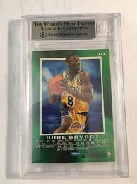 Sep 19, 2019 · 1996 topps chrome refractor #138. 1996 97 Skybox E X Ex 2000 Kobe Bryant Rookie Card Rc Bgs 9 Mint