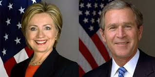 Image result for george bush and donald trump
