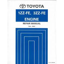 2004 TOYOTA AVENSIS COROLLA VERSO 1ZZ-FE 3ZZ-FE ENGINE REPAIR MANUA...