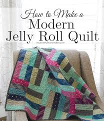 A Quilt and a Giveaway & Some quilts are so easy to make. I made this quilt by using a Jelly Adamdwight.com