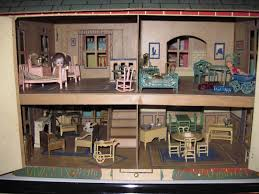 kids dollhouse furniture. The Back Of House Opens As Well, Allowing Access To Two Small Rooms (kitchen And Bathroom): Kids Dollhouse Furniture I