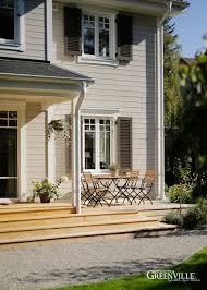 Fensterläden Typisch Für New England Holzhäuser Greenville