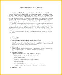 Sample Project Proposal Example Meltfm Co