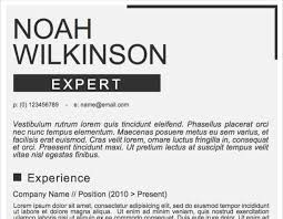 Company Resume Templates 50 Free Microsoft Word Resume Templates Updated October 2019