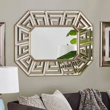 unique wall mirrors. This Fun, Unique Wall Mirror Will Leave Your Guests Speechless With It\u0027s Bold Design And Clean Lines! Can Be Hung Horizontally Or Mirrors E