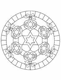 Kleurennu Strikjes Mandala Kleurplaten