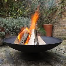 cast iron disc fire pit d52