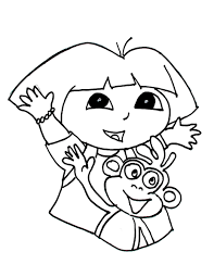 Free printable coloring pages dora coloring sheets. Coloring Pages For Kids Dora